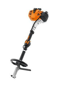 24.1 cc, 0.9kW/1.2 hp. For larger gardens and property maintenance. STIHL ErgoStart, ECOSPEED for power control, loop handle, harness and 2-MIX engine.