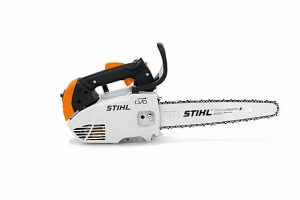 "STIHL's lightest arborist saw. Manual primer bulb and STIHL ErgoStart guarantee easy starting, standard-fitted with 1/4"" PM3 saw chain for a fine cut."