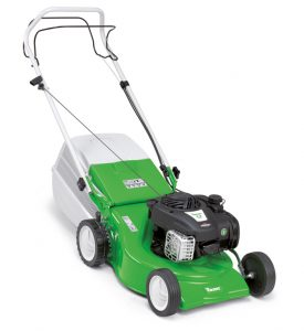 The compact MB 248 T petrol mower is ideal for small to medium lawns. With its large-volume grass catcher bag and single speed drive, this nimble lawn mower makes cutting and collecting an effortless task. The MB 248 T also features robust sheet steel housing and a foldable handlebar for easy transport and storage.
