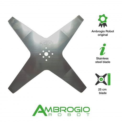 Ambrogio L60 deluxe blade